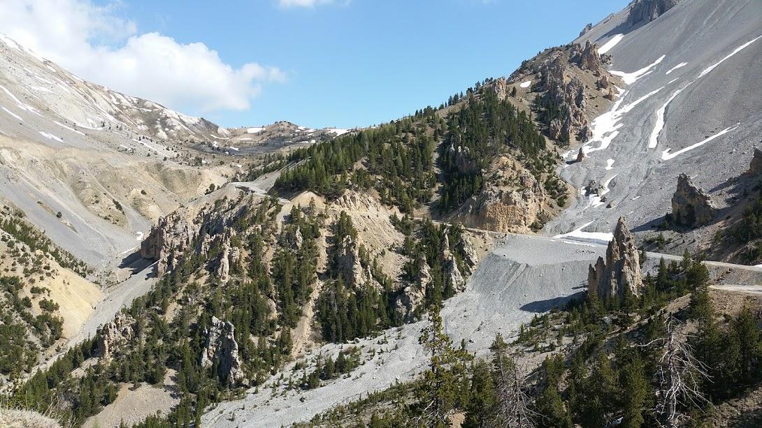 Le col d'Izoard labellisé Route du Tour